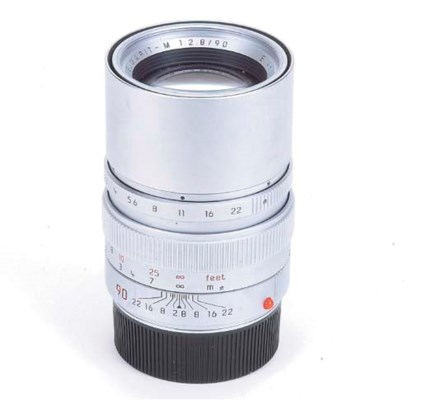 Elmarit-M f/2.8 90mm. no. 3776