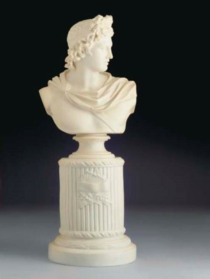 An English Parian bust