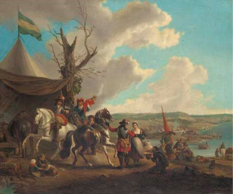 Manner of Philips Wouwerman