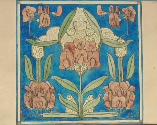 Nine Watercolour and Pencil De