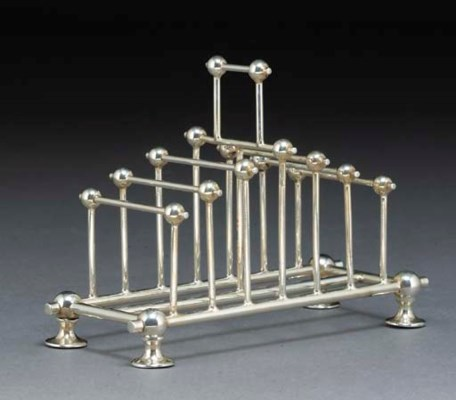 An Electroplated Toast Rack