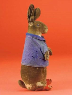 A Steiff Peter Rabbit