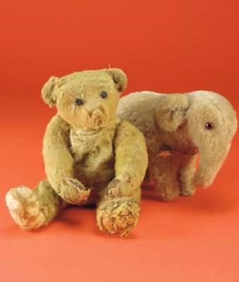 An American teddy bear