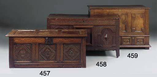 An English oak chest