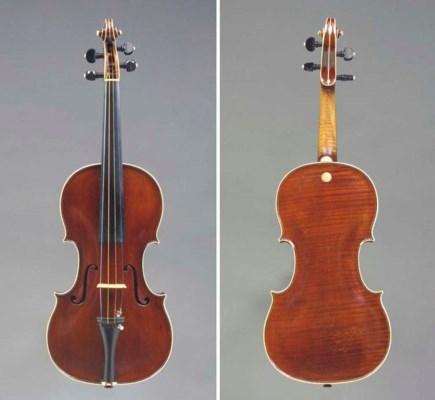 A Violin by Johann Ficker, Mar