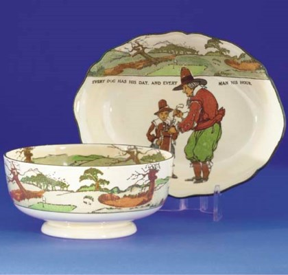 A ROYAL DOULTON SERIES WARE BO