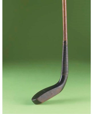 A SCARED-HEAD LONG NOSE PUTTER