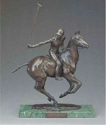 A Royal Worcester bronze of Hi