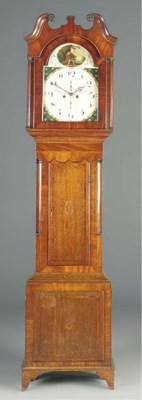 A George IV oak and mahogany l