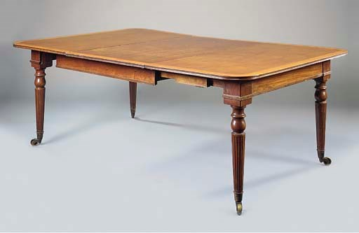 A VICTORIAN MAHOGANY AND BIRCH