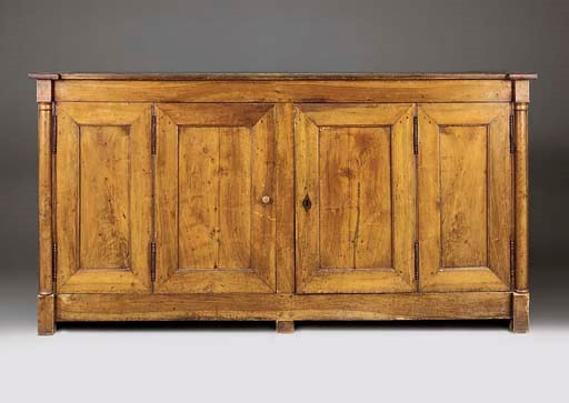 A LARGE FRENCH PROVINCIAL WALN