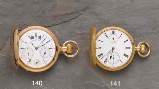 A fine gold keyless perpetual
