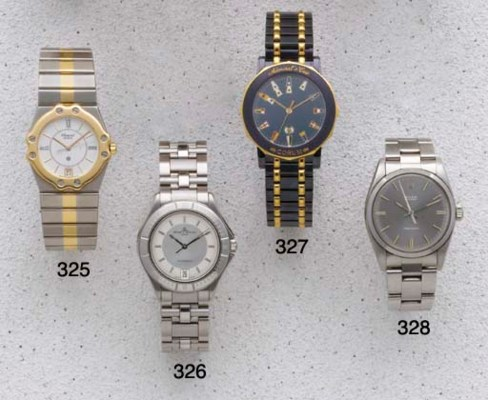 Rolex: A stainless Steel Centr