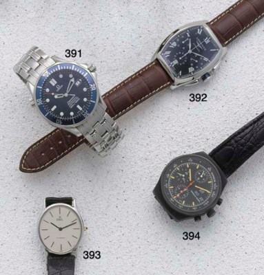 Longines. A stainless steel au