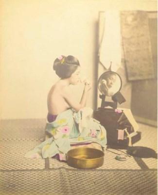 An album containing Japanese p