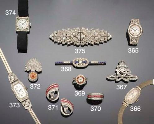 An Edwardian sapphire and diam