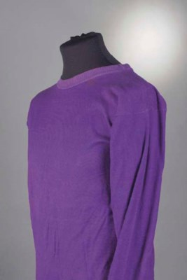A PURPLE FIORENTINA SHIRT