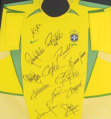 A YELLOW BRAZIL SHIRT