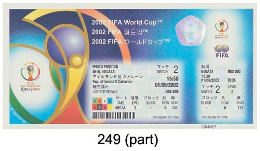 WORLD CUP FINALS 2002