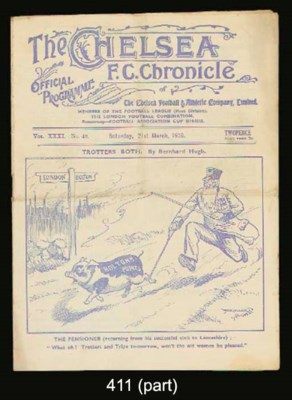 SIX CHELSEA HOME MATCH PROGRAM