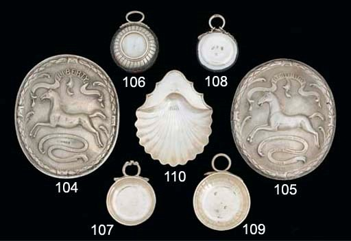 A GEORGE III SILVER BUTTER SHE
