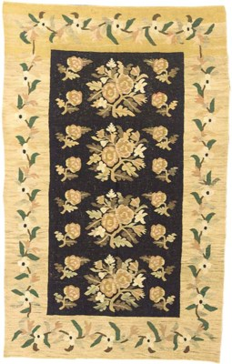 An antique Bessarabian kilim,