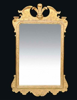 A GEORGE I GILTWOOD AND GESSO