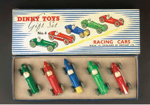 A Dinky Gift Set No. 4 Racing