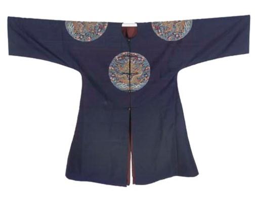 An Imperial surcoat of silk ke