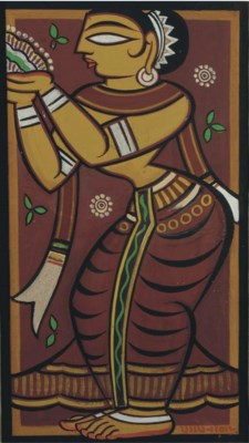 JAMINI ROY (INDIA 1887-1972) G