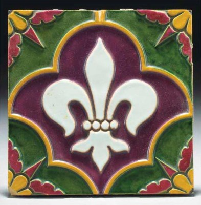 Two Sets of Minton Relief Moul