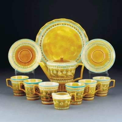 A Linthorpe Part Tea Service