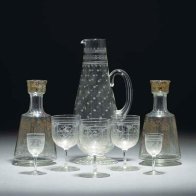 A Clear and Engraved Glass Cla
