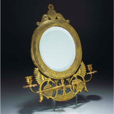 A Brass Mirror