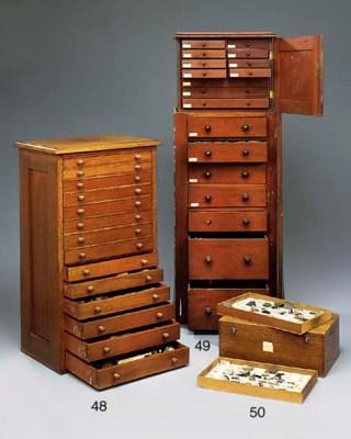 Two late 19th-Century mahogany