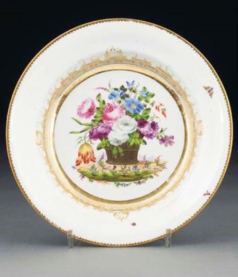 A Swansea plate from the Burde