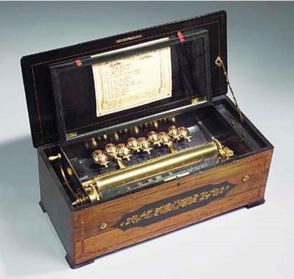 A musical box, No. 2899,