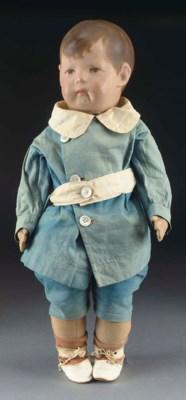A Käthe Kruse doll No.1