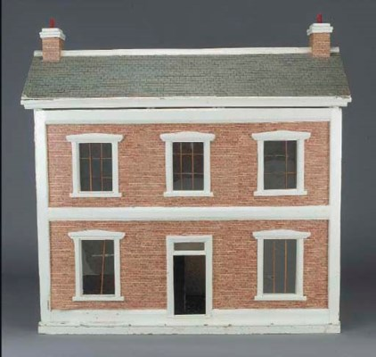 A wood dolls' house