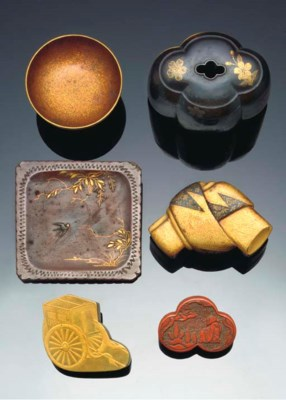A selection of Japanese lacque