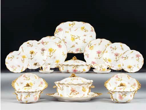 A Royal Crown Derby part servi