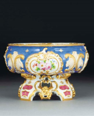 A Kornilov blue-ground bowl