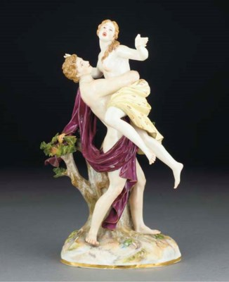 A Meissen group of Boreas and