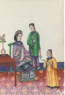 A Chinese ricepaper album, sec