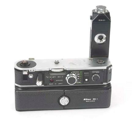 Nikon MD-2 motor drive no. 409