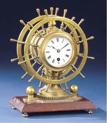 A 19TH-CENTURY NOVELTY CLOCK A