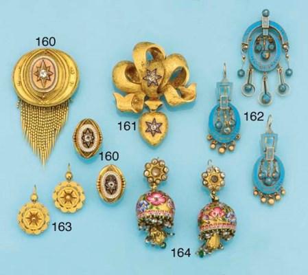 A mid Victorian gold, diamond