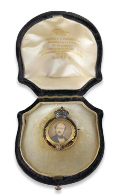 A 19th century gold Royal Pres