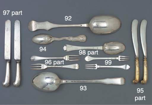 A Continental Silver Spoon
