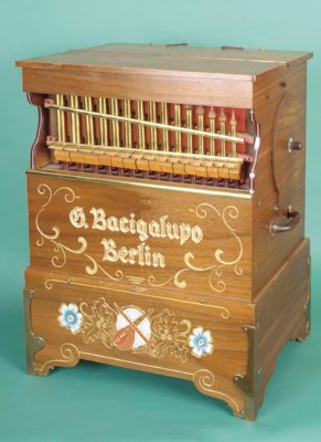 A Geweke 'Bacigalupo' portable